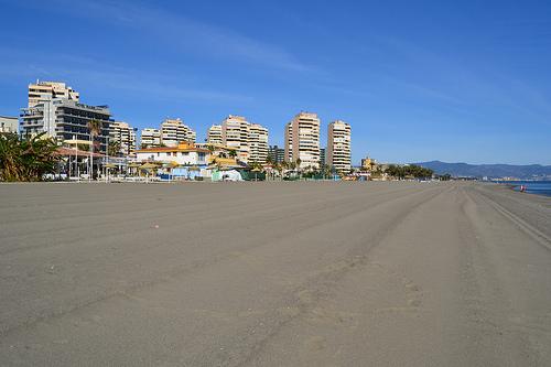 Playa en Torremolinos