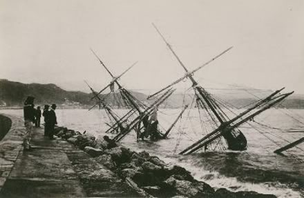fragata Gneisenau hundida frente a Málaga