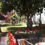 Los jardines de Ibn Gabirol, un tranquilo rincón