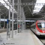 La estación de tren María Zambrano