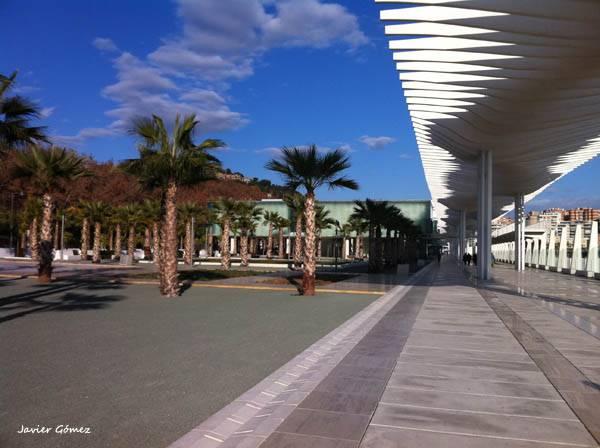 Muelle 1 en Puerto de Malaga